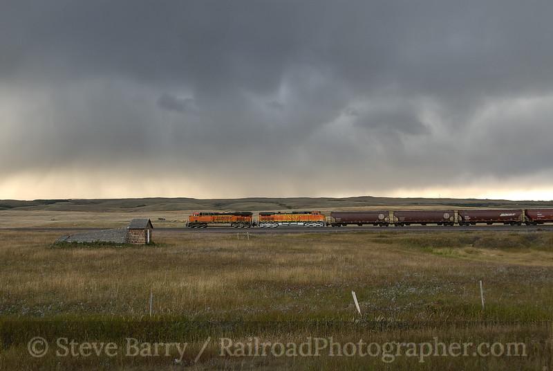 Photo 1341<br /> BNSF Railway; Grizzley, Montana<br /> September 7, 2008