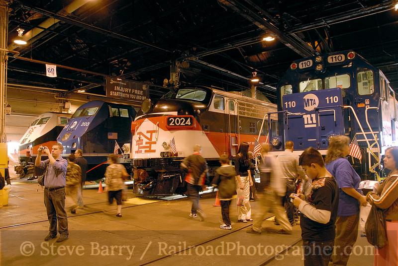 Photo 1290<br /> Metro North Railroad; Harmon Shops, Croton-on-Hudson, New York<br /> October 11, 2008
