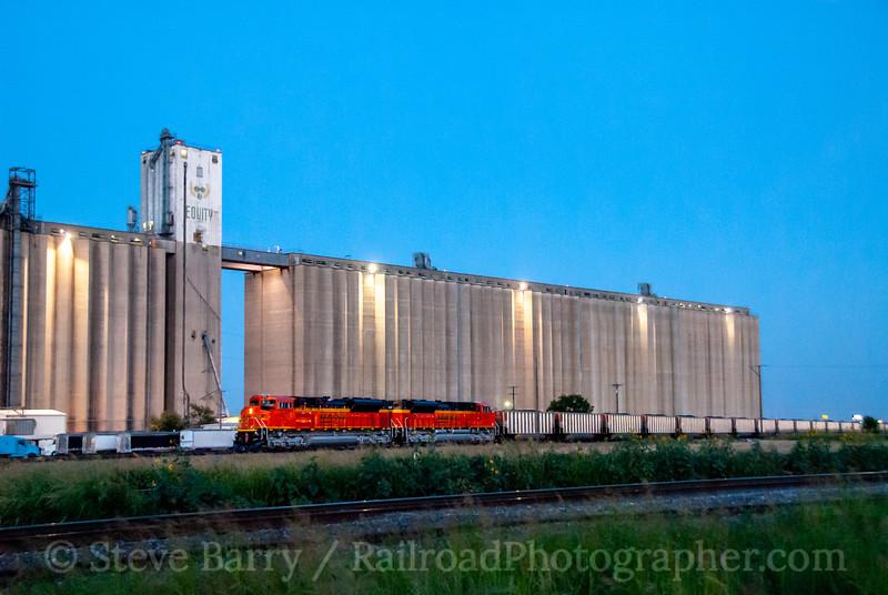 BNSF; Saginaw TX; 6/15/08