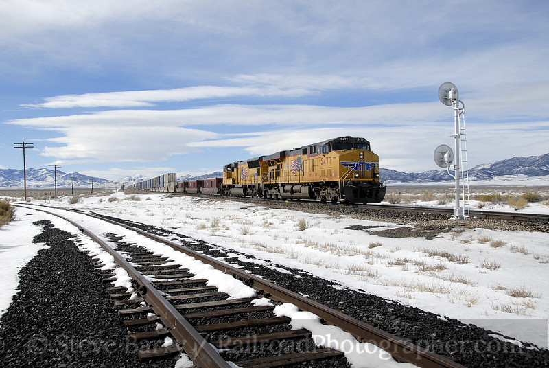 Photo 1080<br /> Union Pacific; Shafter, Nevada<br /> February 8, 2008