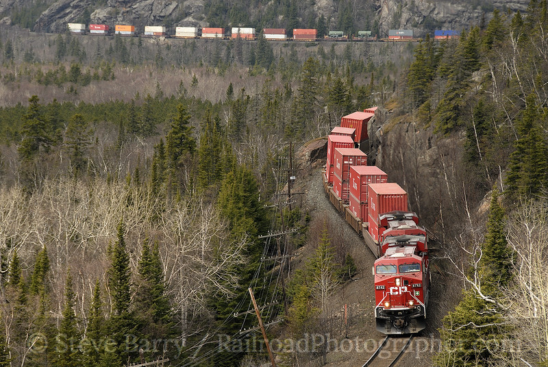 Photo 1180<br /> Canadian Pacific; Neys, Ontario<br /> May 9, 2008