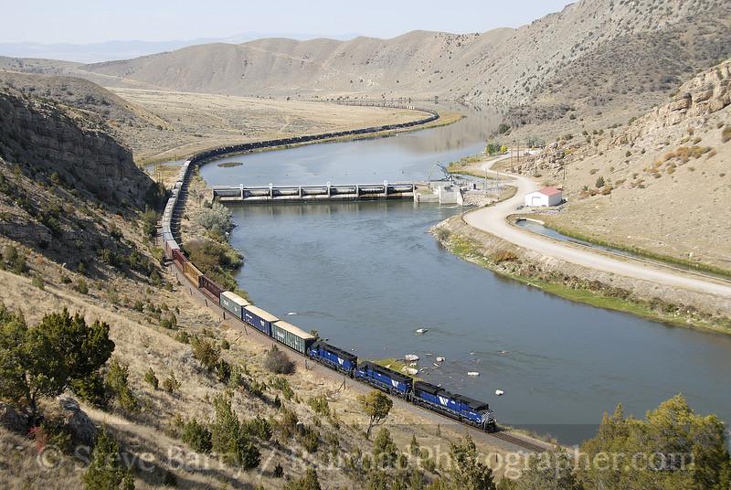 Photo 1280<br /> Montana Rail Link; Tosten, Montana<br /> September 18, 2008