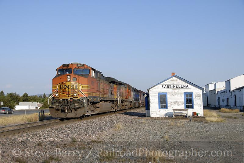 Photo 1286<br /> BNSF Railway (Montana Rail Link); East Helena, Montana<br /> September 18, 2008