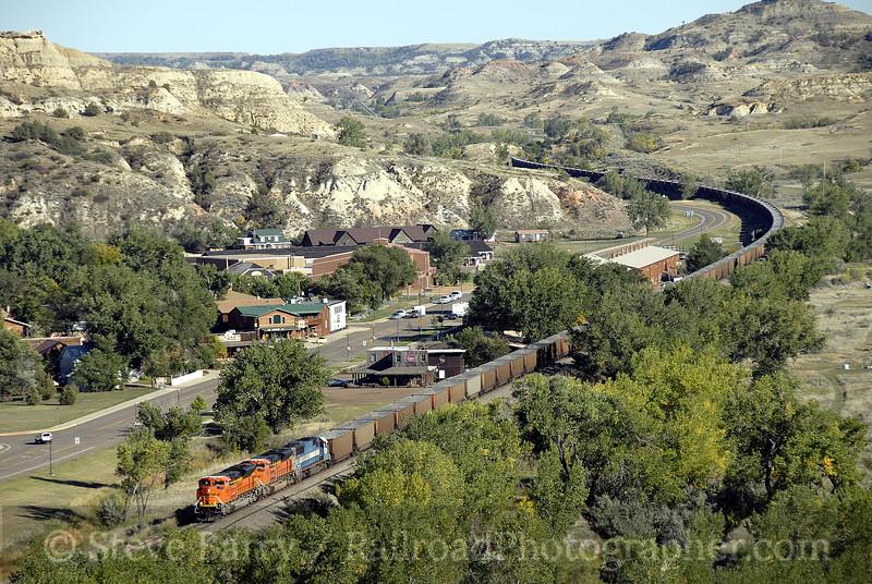 Photo 1336<br /> BNSF Railway; Medora, North Dakota<br /> September 15, 2008