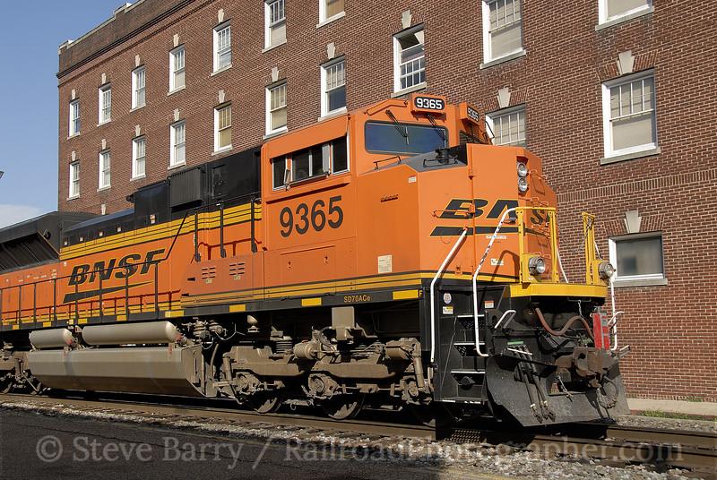 Photo 1192<br /> BNSF Railway (on Union Pacific); Shreveport, Louisiana<br /> June 8, 2008