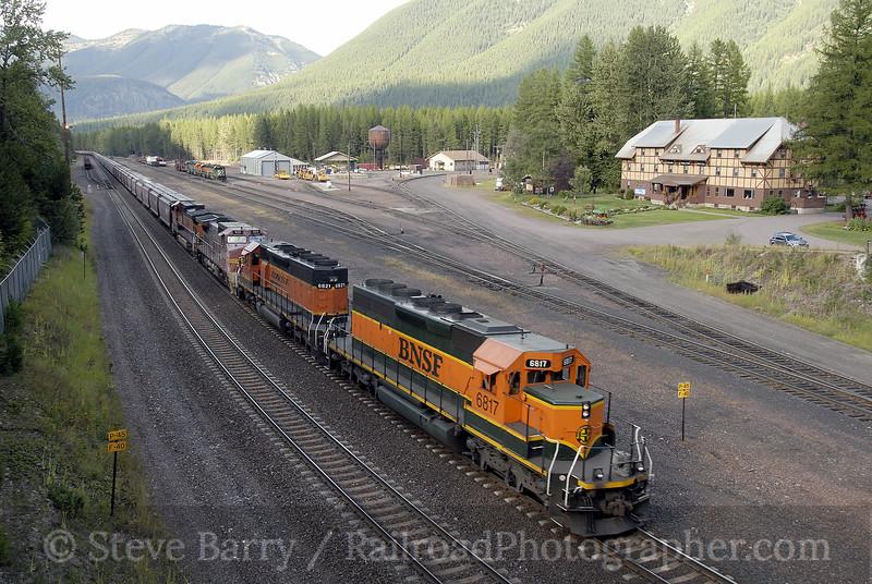 Photo 1344<br /> BNSF Railway; Essex, Montana<br /> September 7, 2008