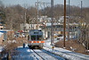 Photo 1797<br /> Norristown High Speed Line (SEPTA)<br /> Ardmore, Pennsylvania; February 12, 2010