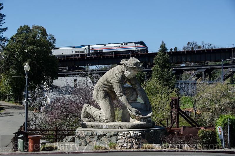Photo 2634<br /> Amtrak; Auburn, California<br /> March 12, 2013