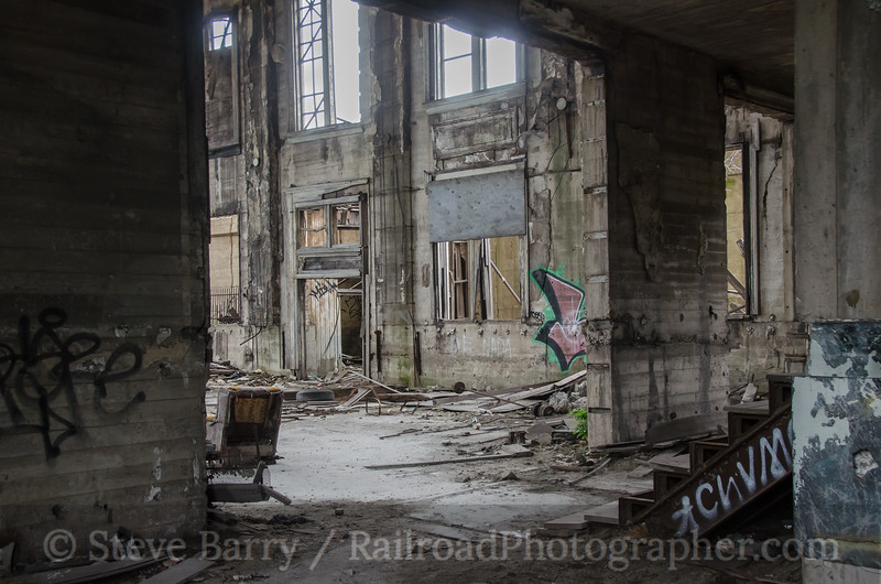 Photo 2736<br /> Gary Union Station; Gary, Indiana<br /> July 6, 2013