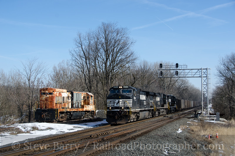 Photo 2553<br /> Norfolk Southern; Annville, Pennsylvania<br /> January 27, 2013