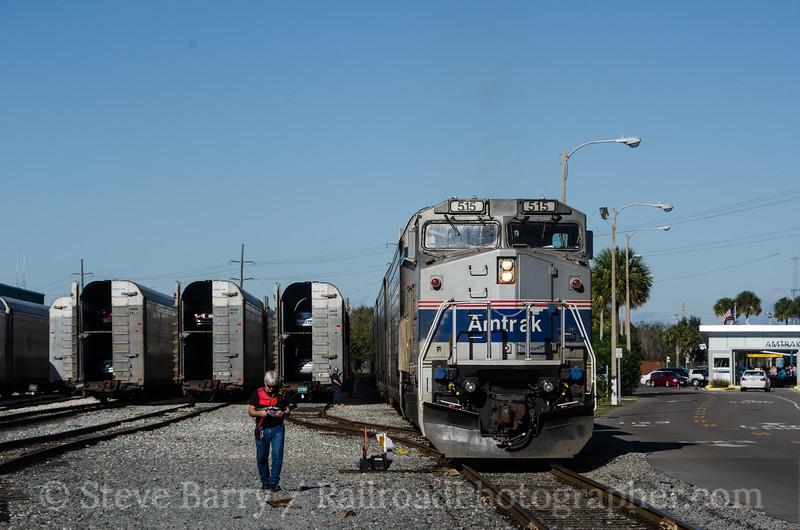 Photo 2574<br /> Amtrak; Sanford, Florida<br /> February 8, 2012
