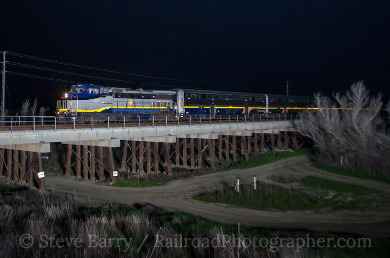 Photo 2636<br /> Amtrak; Yolo Causeway, Davis, California<br /> March 12, 2013