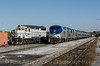 Photo 2573<br /> Amtrak and Conrad Yelvington; Sanford, Florida<br /> February 8, 2013