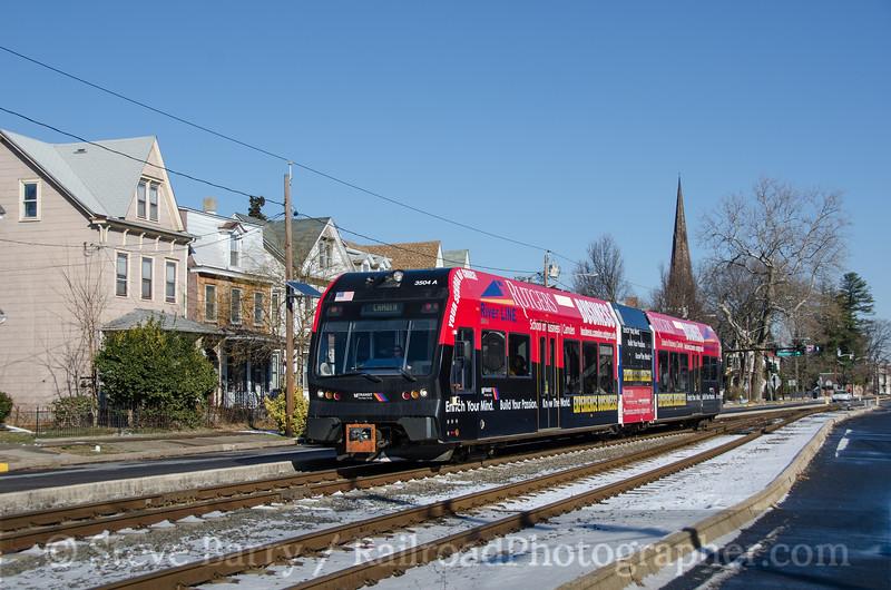 Photo 2554<br /> RiverLine (NJT); Burlington, New Jersey<br /> January 26, 2013