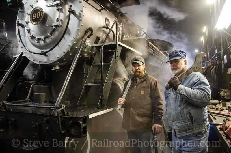 Photo 2598<br /> Strasburg Rail Road; Strasburg, Pennsylvania<br /> February 19, 2013
