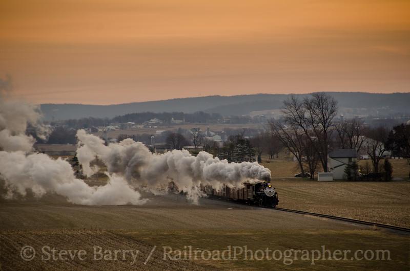 Photo 2595<br /> Strasburg Rail Road; Strasburg, Pennsylvania<br /> February 19, 2013