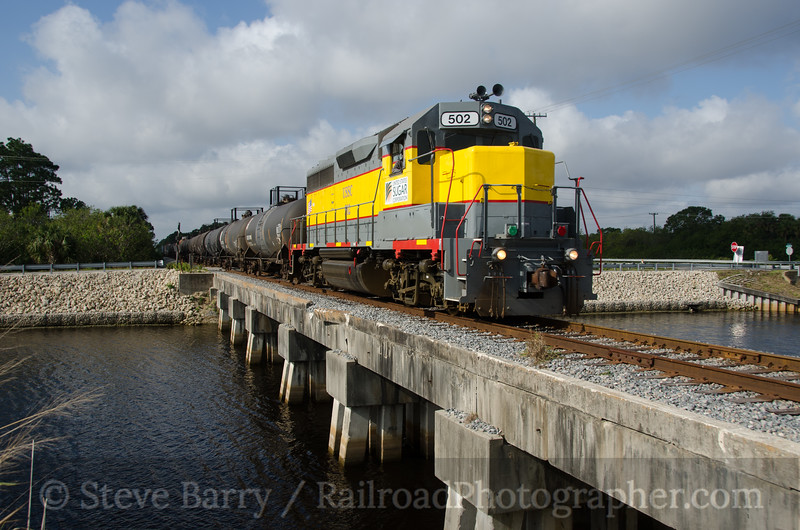 Photo 2589<br /> South Central Florida Express; Port St. Lucie, Florida<br /> February 13, 2013