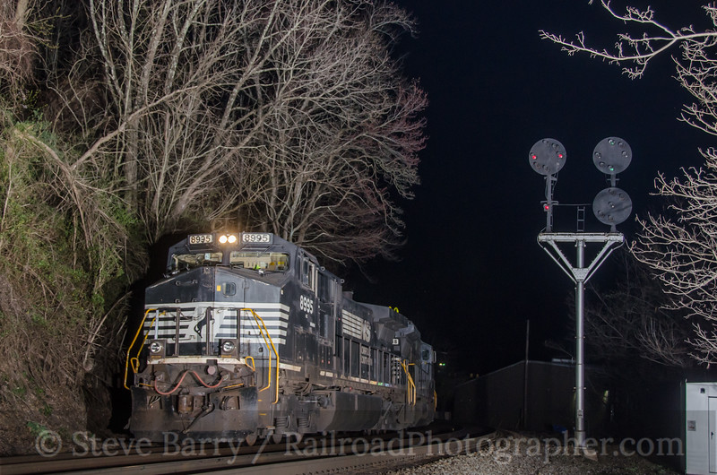Photo 2655<br /> Norfolk Southern; Welch, West Virginia<br /> April 9, 2013