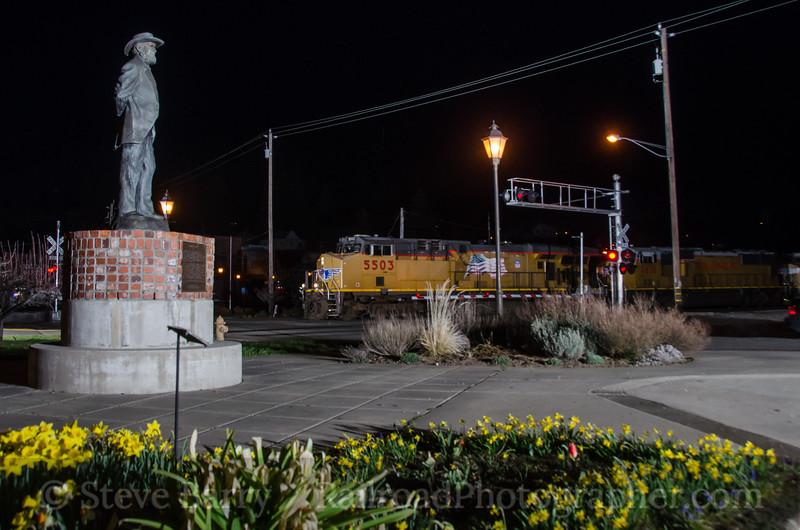 Photo 2633<br /> Union Pacific; Colfax, California<br /> March 11, 2013