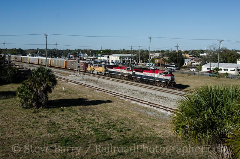 Photo 2576<br /> Florida East Coast; New Smyrna Beach, Florida<br /> February 8, 2013