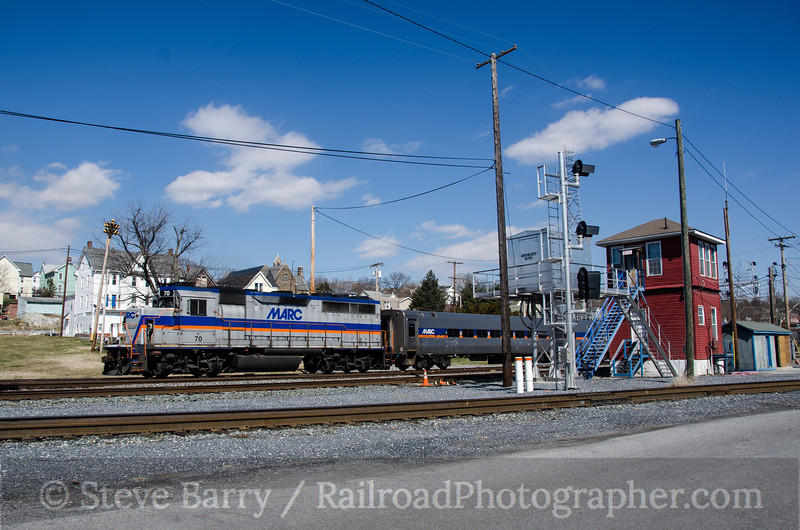 Photo 2640<br /> Maryland Area Rail Commuter; Brunswick, Maryland<br /> March 22, 2013
