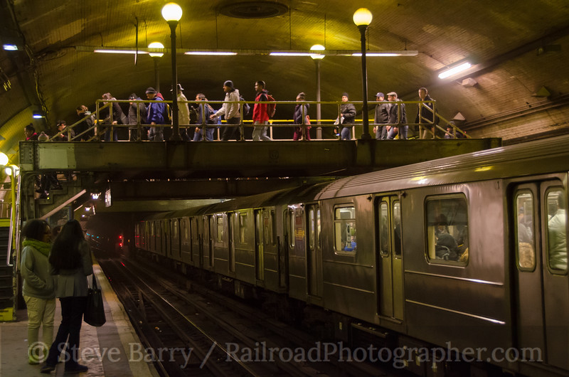 Photo 2549<br /> New York City Transit Authority; 168th Street, New York, New York<br /> January 29, 2013