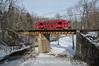 Photo 3062<br /> Southeastern Pennsylvania Transportation Authority; Smedley Park, Springfield, Pennsylvania<br /> February 1, 2014