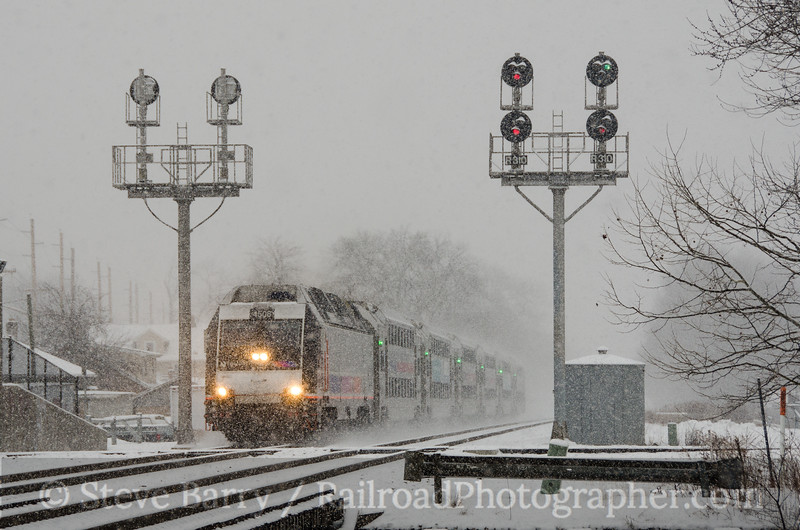 Photo 3314<br /> New Jersey Transit; Bound Brook, New Jersey<br /> March 1, 2015