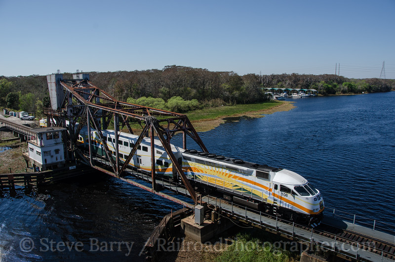 Photo 3306<br /> Sunrail; Lake Monroe, Sanford, Florida<br /> February 13, 2015