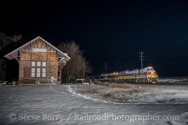 Photo 3298<br /> Norfolk Southern; Annville, Pennsylvania<br /> February 1, 2015