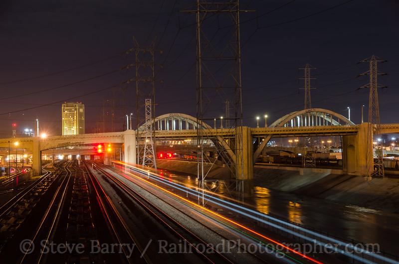 Photo 3326<br /> Amtrak; 7th Street, Los Angeles, California<br /> March 11, 2015