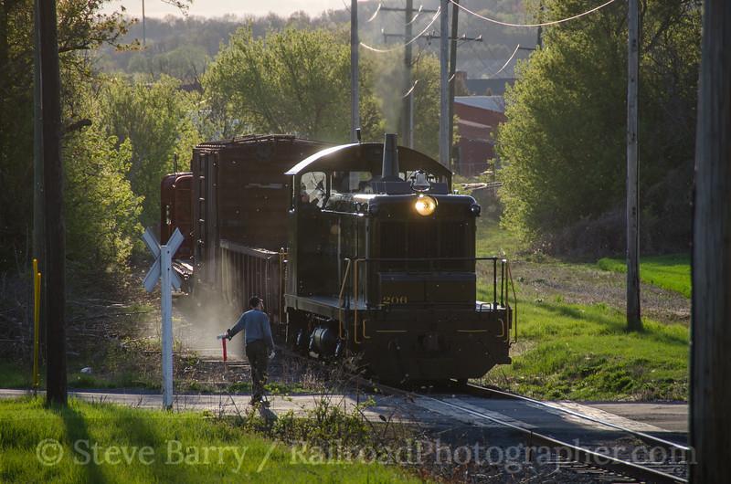 Photo 3395<br /> Allentown & Auburn; Kutztown, Pennsylvania<br /> May 2, 2015