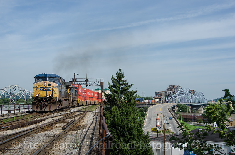 Photo 3448<br /> CSX Transportation; Covington, Kentucky<br /> August 8, 2015