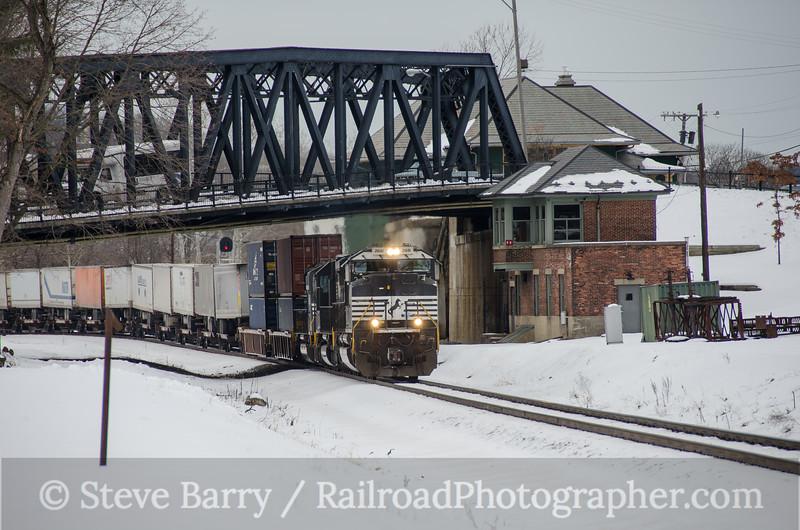 Photo 3293<br /> Norfolk Southern; Phillipsburg, New Jersey<br /> January 29, 2015