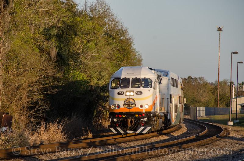 Photo 3309<br /> Sunrail; Sanford, Florida<br /> February 13, 2015