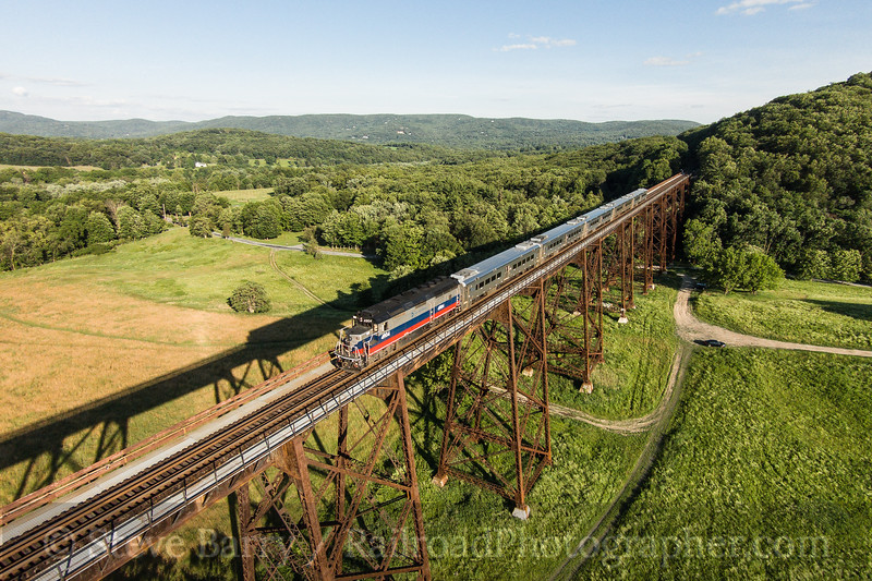Photo 3434<br /> Metro North; Moodna Viaduct, Salisbury Mills, New York<br /> June 22, 2015