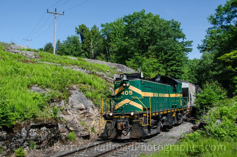 Photo 3425<br /> Vermont Rail System; Grahamville, Vermont<br /> June 14, 2015