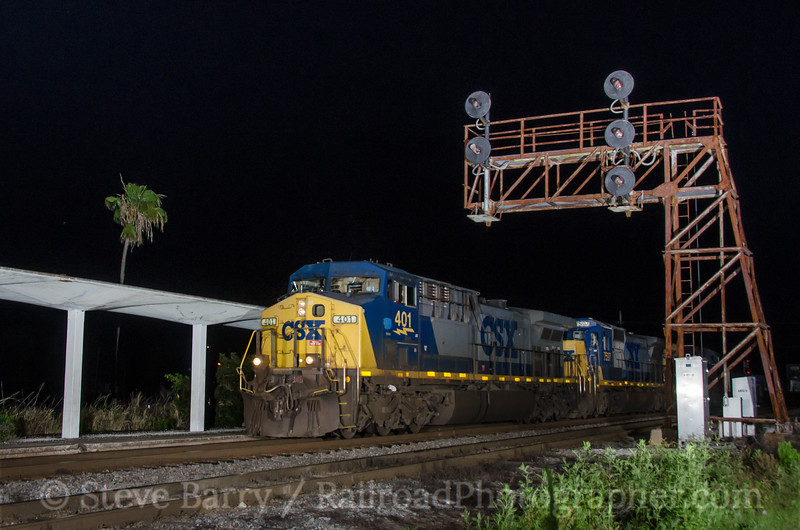 Photo 3347<br /> CSX Transportation; Lakeland, Florida<br /> March 30, 2015