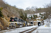 Photo 3649<br /> Norfolk Southern; Montgomery Tunnel, Christiansburg, Virginia<br /> January 28, 2016