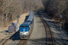 Photo 4040<br /> Amtrak; Thompsontown, Pennsylvania<br /> February 19, 2017