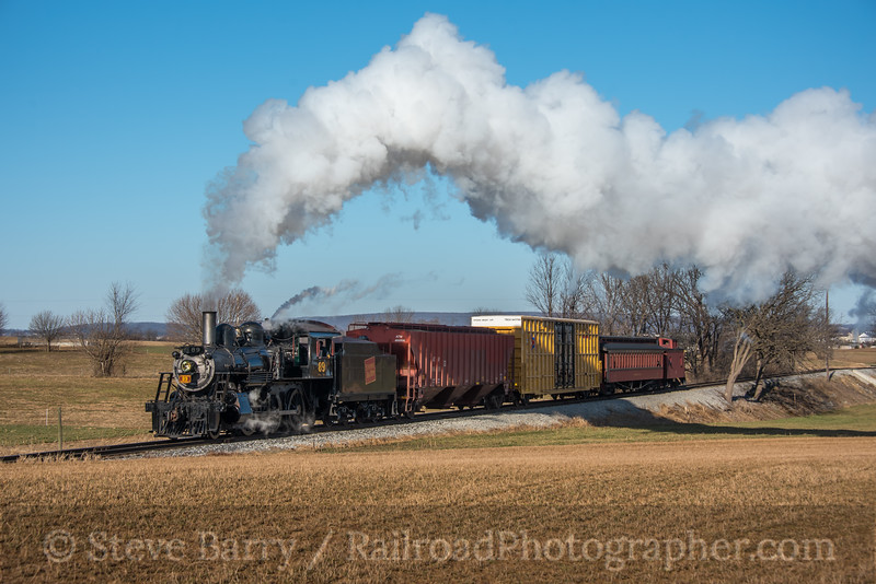Photo 5477<br /> Strasburg Rail Road<br /> Paradise, Pennsylvania<br /> February 16, 2019