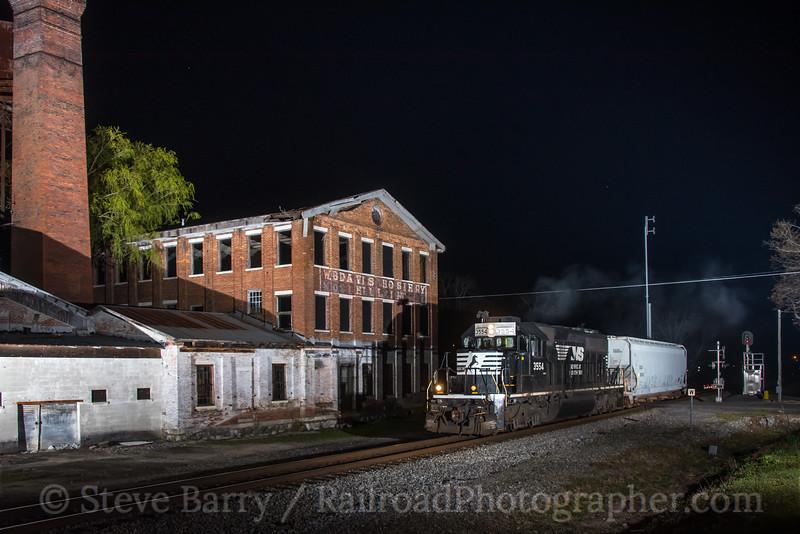 Photo 5516<br /> Norfolk Southern<br /> Fort Payne, Alabama<br /> March 27, 2019