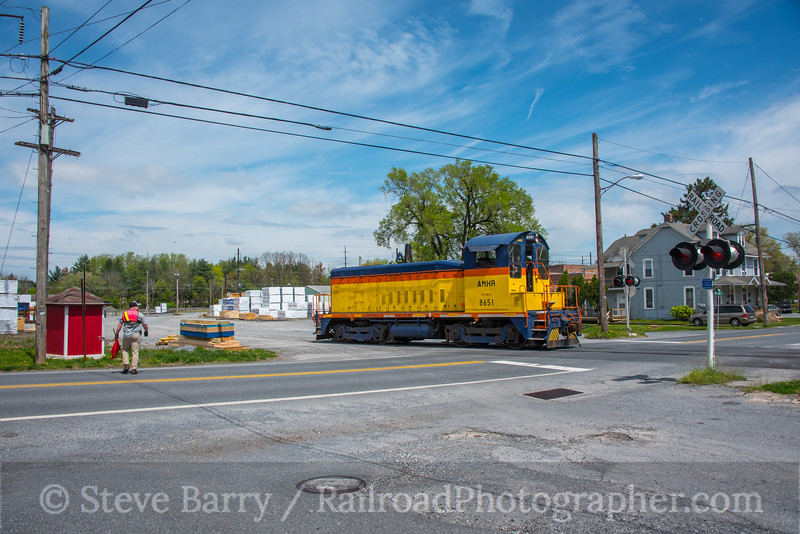 Photo 5534<br /> Landisville Railroad<br /> Landisville, Pennsylvania<br /> April 22, 2019