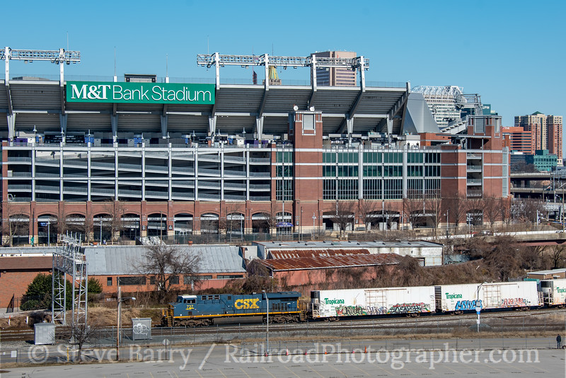 Photo 5474<br /> CSX Transportation<br /> Bailey's Wye, Baltimore, Maryland<br /> February 9, 2019