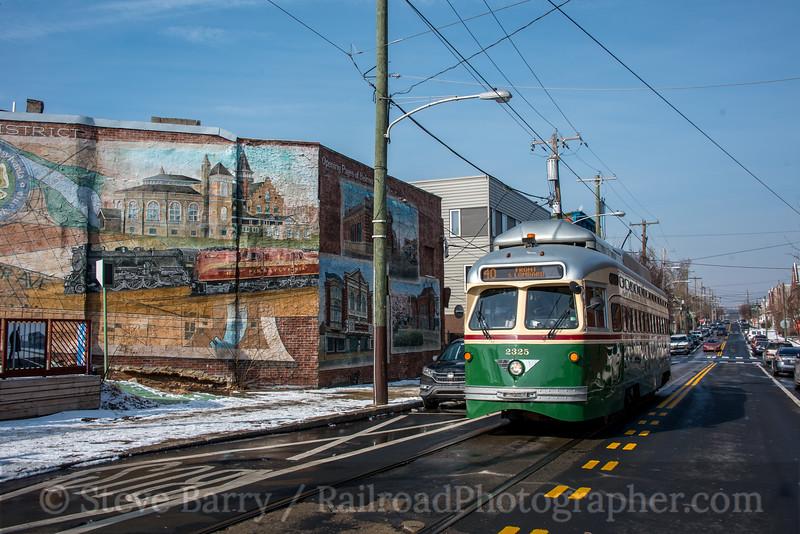 Photo 5459<br /> Southeastern Pennsylvania Transportation Authority<br /> 40th & Mount Vernon, Philadelphia, Pennsylvania<br /> February 2, 2019