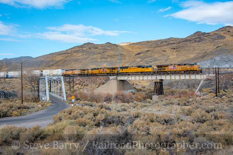 Union Pacific; Painted Rock NV; 11/15/19