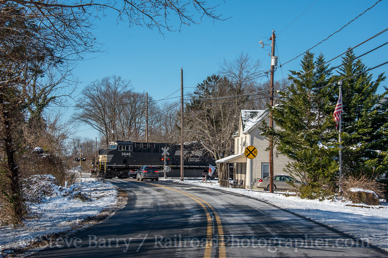 Photo 5436<br /> Norfolk Southern<br /> Blackbird, Delaware<br /> January 14, 2019