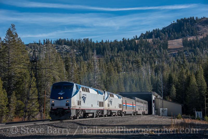 Amtrak; Norden CA; 11/17/19