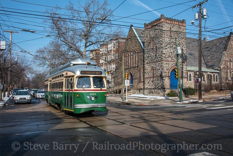 Photo 5460<br /> Southeastern Pennsylvania Transportation Authority<br /> 42nd & Baltimore, Philadelphia, Pennsylvania<br /> February 2, 2019
