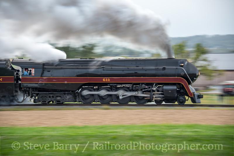 Norfolk & Western 611; Strasburg PA; 10/6/19